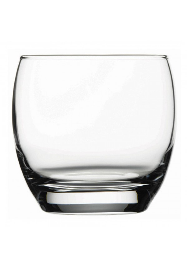 Barrel Whisky Clear Glass 340 ml - 6 Pcs