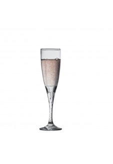 Twist Champagne Flute 150 ml, 6 Pcs