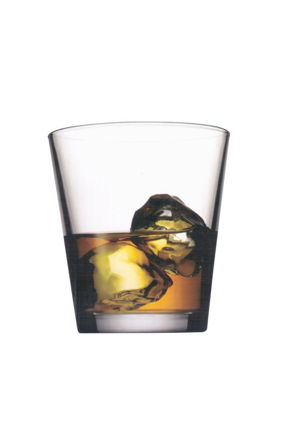 City Whisky Glass, 6 pcs Set, 350 ml