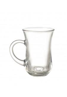 Tea / Coffee Mug With Handle 145 ml, 6 pcs