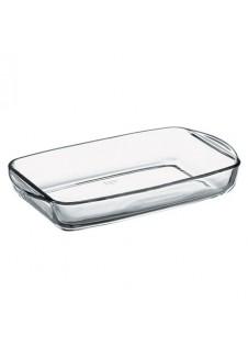 Borcam Rectangular Tray With Handle 2000 ml