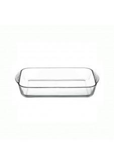 Borcam Rectangular Tray With Handle 3800 ml