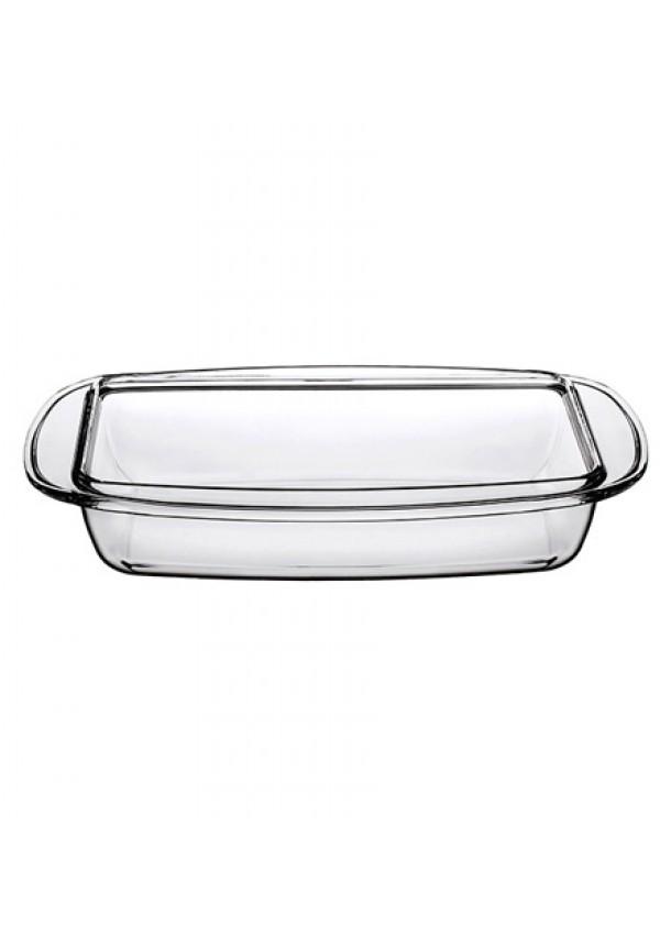 Borcam Rectangular Tray With Handle - 2850 ml