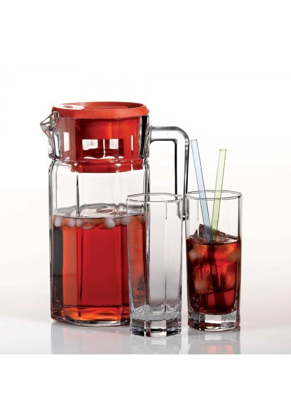 7 Pcs Kosem Water Set, Jug-1250 ml, Glass-260 ml