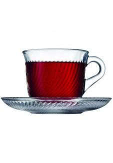 Marmara  Cup & Saucer 6 Pcs Set
