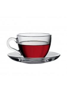 Basic Cup & Saucer - 12 Pcs Set