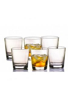 Petek Whisky Glass, 6 pcs Set, 270 ml