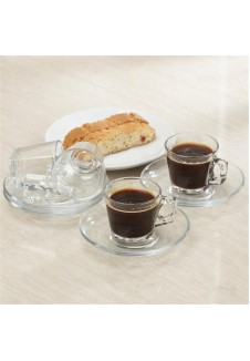 Vela Cups and Saucers 12 Pieces Set, cup-190 ml