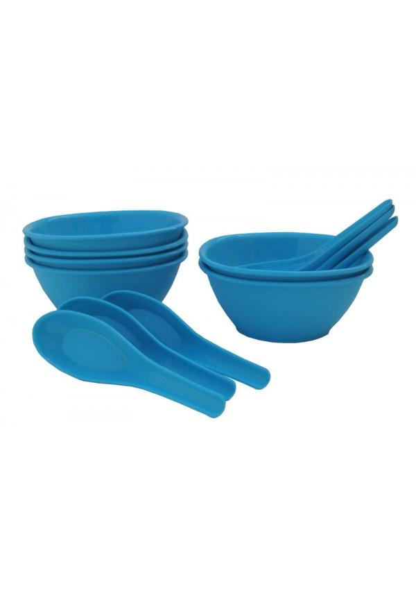 Incrizma 12 Pcs Soup Set ,Blue
