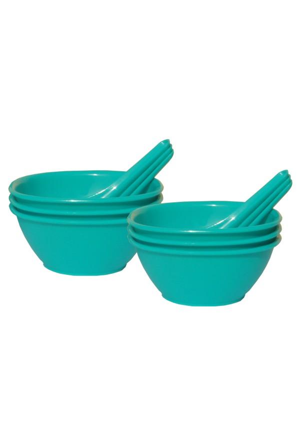 Incrizma 12 Pcs Soup Set , Green